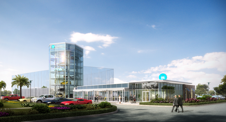 Whn Architects Carvana Fulfillment Center