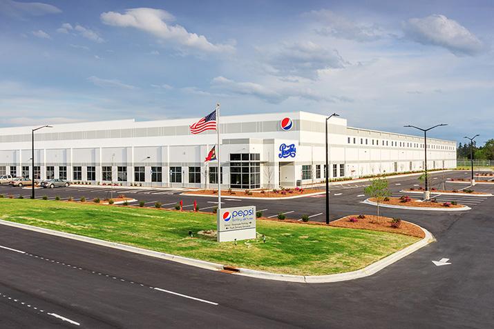 Pepsi Bottling Ventures - front of building