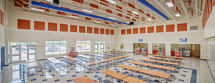 Nations Ford Elem. cafeteria